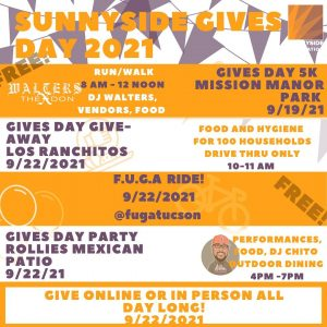 Sunnyside Gives Day 2021 Events